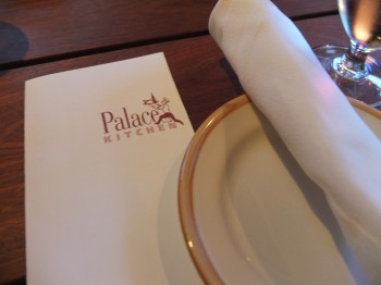 Palace Kitchen Menu
