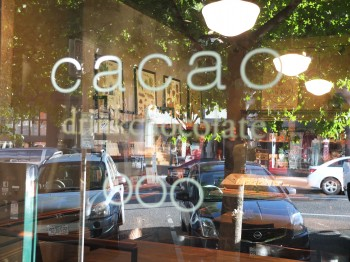 Cacao Front Door