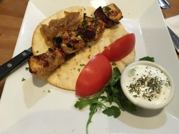 Olive & Grape Chicken Shish Kebab