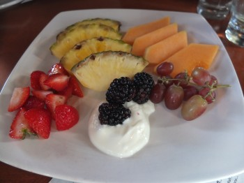 The Lost Pelican Fruit Plate