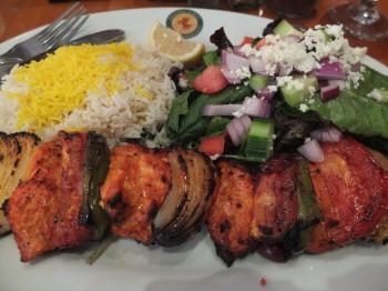 Panini Cafe Chicken Kabob