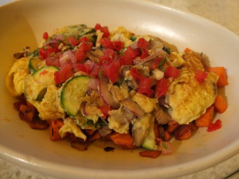 True Food Market Vegetable Scramble