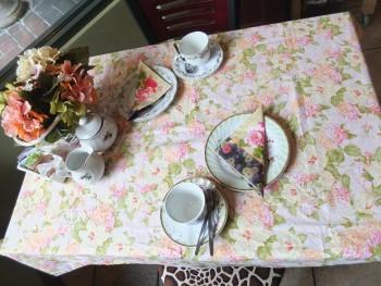 Cederberg Tea House Tea Time Table