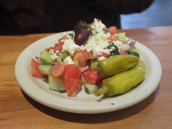 The Olive & Grape Greek Salad