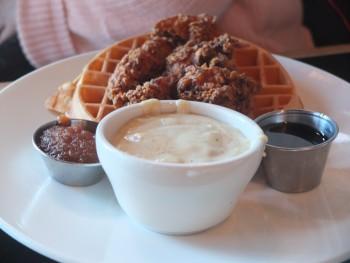 Burgundian Chicken & Waffles