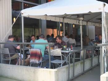 Portage Bay Cafe SLU Patio