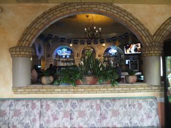 Azteca View to Bar