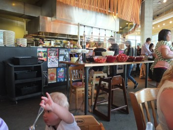 Portage Bay Cafe SLU View from Dining to Kitchen