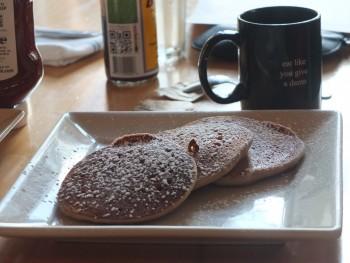 Portage Bay Cafe SLU Vegan Banana Pancakes