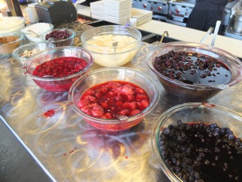 Portage Bay Cafe Ballard Toppings Bar