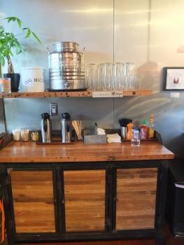 Madison Kitchen Condiment Bar & Water Jug