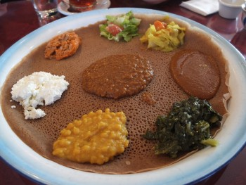 Meskel Vegetarian Combination