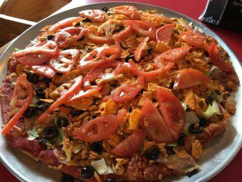Bruno's Chicken Taco Pizza