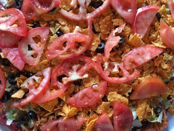 Bruno's Chicken Taco Close-Up