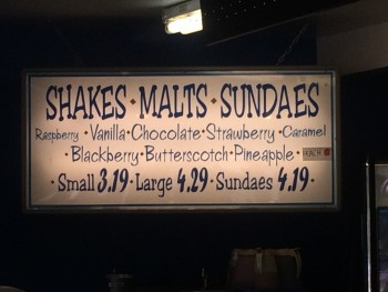 Spud Shakes Sign