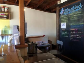 Bluebird Ice Cream Counter