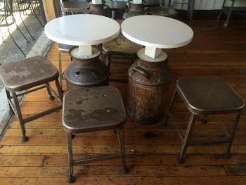 Bluebird Ice Cream Stools & Tables