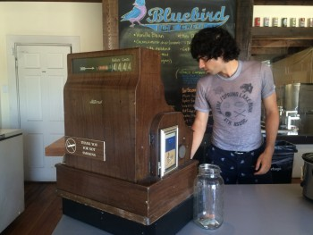 Bluebird Ice Cream Register