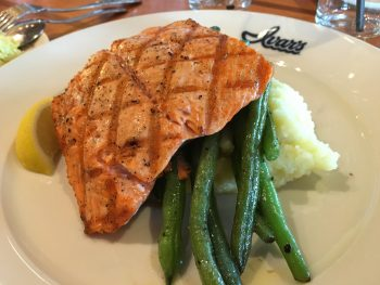 Ivar's Acres of Clams Simply Grilled Wild Coho Salmon