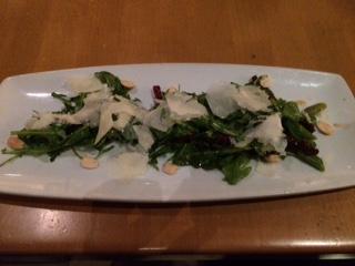 CPK Asparagus & Arugula Salad