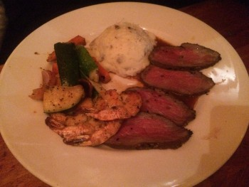 Claim Jumper Roasted Tri-Tip & Grilled Shrimp