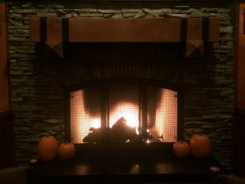 Claim Jumper Fireplace