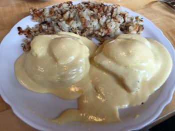 The Original Pancake House Eggs Benedict