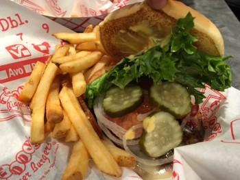 Teddy's BB Hawaii Kai Burger