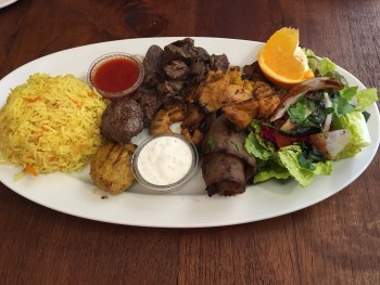 Cafe Turko Suleyman The Magnificent (Mixed Grilled Meat Plate for Sultans)