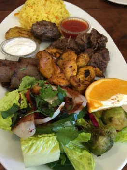 Cafe Turko Mixed Grill Meat Plate