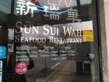 Sun Sui Wah Door Sign