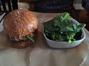 BRGR Bar Oaxaca with Side Salad