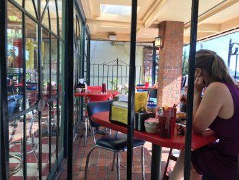 Green Light Diner Patio 2