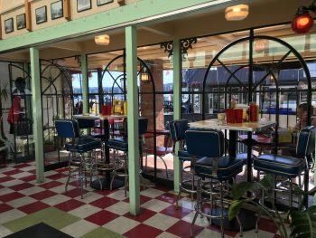 Green Light Diner Dining Bar Tables 2