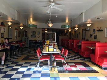 Green Light Diner Dining Room