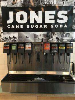 Great State Burger Jones Soda Fountain