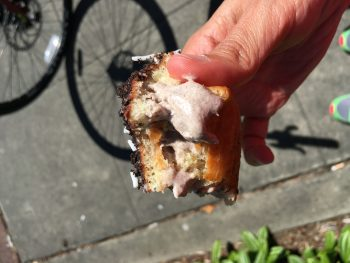 Krispy Kreme Oreo Cream-Filled Innards
