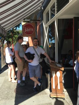 Jam Cafe Victoria Outside