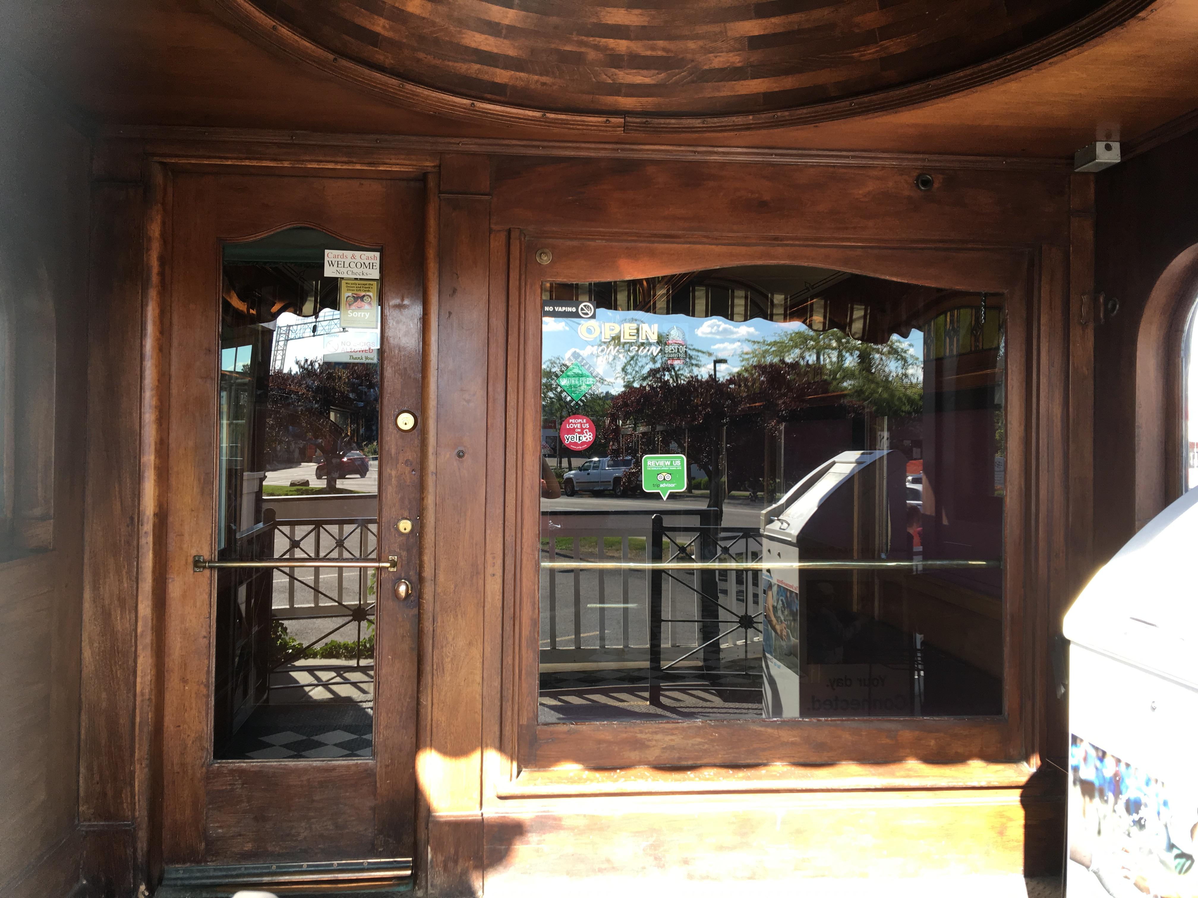Frank\u0027s Diner Door to Cabin & Frank\u0027s Diner Door to Cabin | Mojdeh Sami