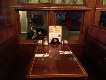 Frank's Diner Train Conductor