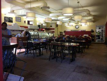 White Box Cafe & Bakery Interior