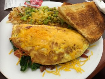 White Box Cafe & Bakery Create Your Own Omelet