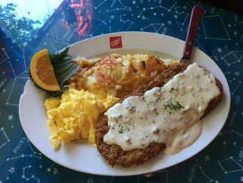 North Star Diner Chicken Fried Steak & Eggs