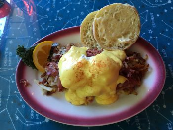 North Star Diner Hash Benedict