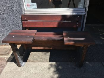 Habit Coffee Chinatown Outdoor Bench 2