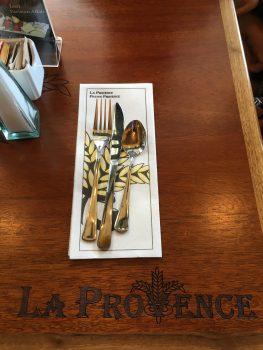 La Provence Hillsboro Silverware