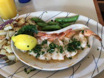 Chinook's Garlic Butter Shrimp