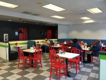 Burgerville NE Seating