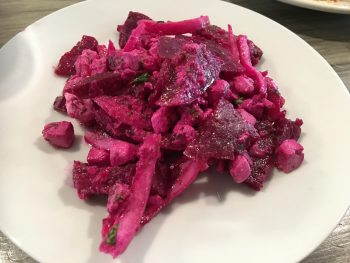 Madeline's Beets by Dre Salad