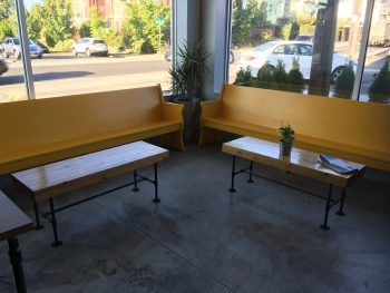 Preserve & Gather Yellow Benches 2